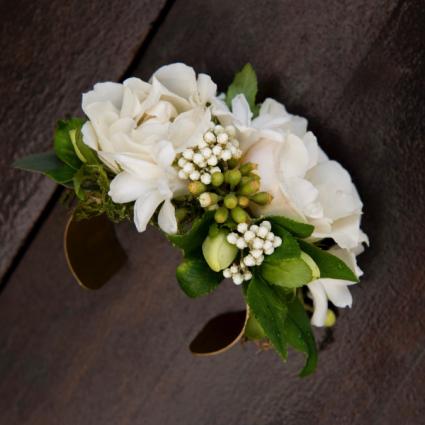 White Rose Cuff