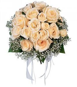 White Rose Nosegay HF1662