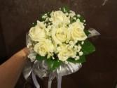 White roses Handheld