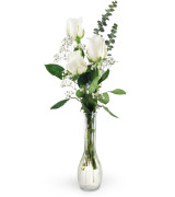 White roses - 947 Vase arrangement