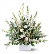 White Serenity Arrangement