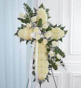 WHITE SERENITY CROSS WAS $199/NOW $165.00