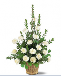 White Simplicity Basket