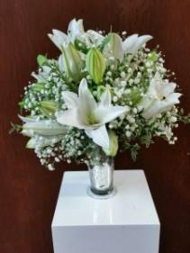 White Softness  Vase