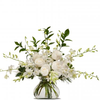 White Splendor Arrangement