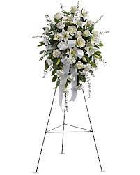 WHITE STANDING SPRAY 3 WAS $199.00/NOW $165.00