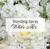White Standing Spray