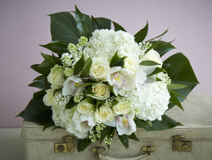 White Valentines Day   in Oakville, ON | ANN'S FLOWER BOUTIQUE-Wedding & Event Florist