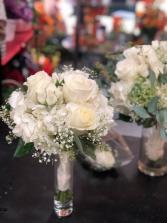 White wedding bouquet  Clutch Brides bouquet