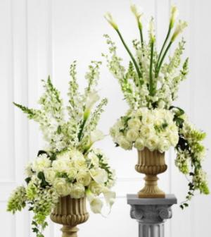 White Wedding Pieces   in Sedalia, MO | State Fair Floral
