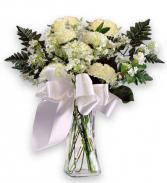 White Whisper  Vase Arrangement