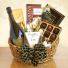 White Wine & Chocolate Gift Basket  Wine & Chocolates
