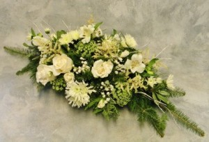 White Winter Centerpiece in Ithaca, NY | BUSINESS IS BLOOMING