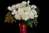 Pure White Fresh Cut Arrangement