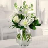 White Wonder mixed bouquet