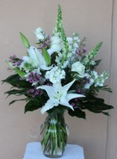 White Wonders  Floral Bouquet