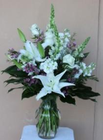 White Wonders  Floral Bouquet