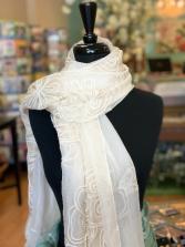 White Wrap/Scarf Gift Item