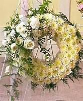 White Wreath Remembrance Funeral