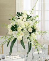 Whites Abound Wedding Flowers