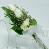 White/Silver Flowers Presentation *Margot's Area Only*
