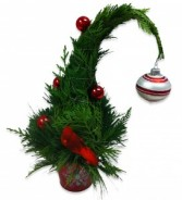 Whoville Tree Christmas Arrangement