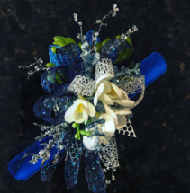 Why So Blue..... Prom Corsage