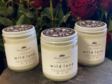 Wick Forest Locally Made Candle Candle