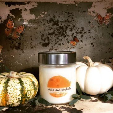 Wicks and Windmills Pumpkin Pie Spice Candle
