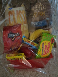 FINALS BASKETS LITTLE BIT OF THIS...LITTLE BIT OF  THAT! Sweet and Salty Mix of snacks!  30 HOUR NOTICE FOR DELIVERY.
