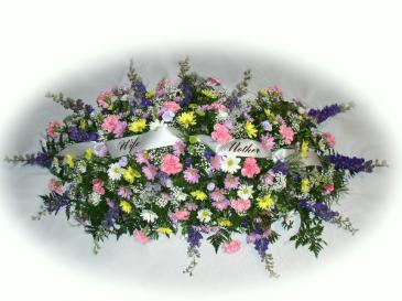 Wife & Mother Casket Flowers