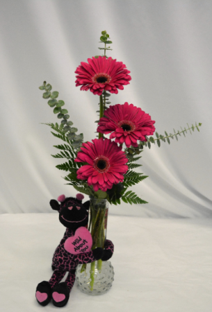 WILD ABOUT YOU! FRESH FLOWERS/PLUSH