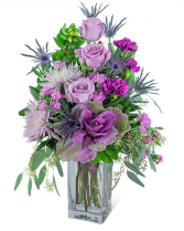 Wild Amethyst Flower Arrangement