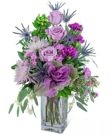 Wild Amethyst Flower Arrangement