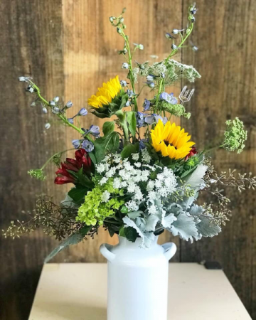Wild and Free Arrangement