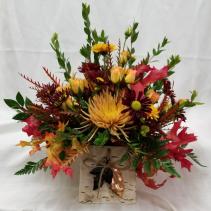 Wild Autumn Bouquet Fresh fall arrangement