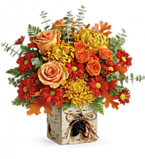 Wild Autumn Bouquet Thanksgiving