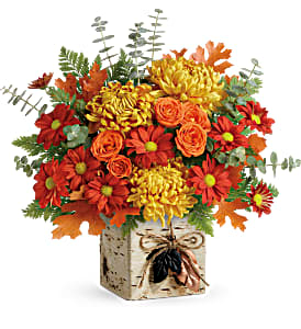 Rustic Fall Floral Bouquet in Whitesboro, NY | KOWALSKI FLOWERS INC.