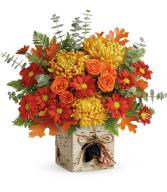 Wild Autumn Floral Bouquet
