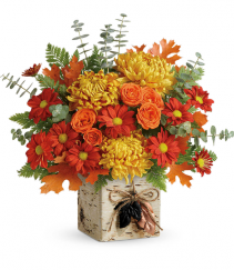 Wild Autumn Floral Bouquet