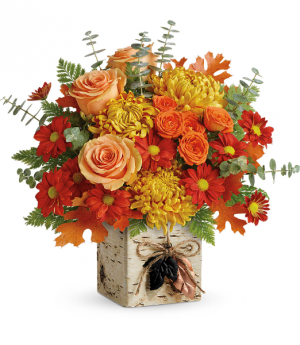 Wild Autumn Teleflora Bouquet in Saint Louis, MO   SOUTHERN FLORAL SHOP