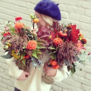 Wild Autumnal Vase Arrangement