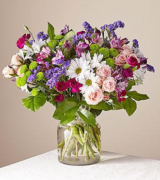 Wild berry  Premium Clear Vase