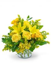 Wild Canary Flower Arrangement