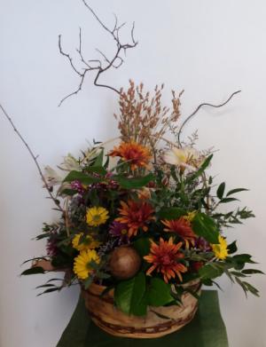 Wild Fall Basket Basket in Norway, ME | Green Gardens Florist & Gift Shop