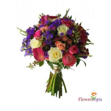 Wild Flower Bridal Bouquet Bride's Bouquet