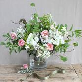 Wild Flower Garden Round Vase Arrangement