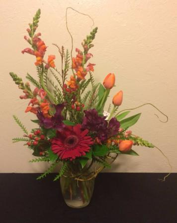 Wild in Love Vase Arrangement