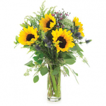 Wild in the Sun Floral Arrangment