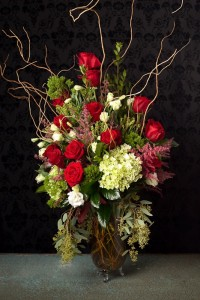 Wild Red Roses  in Aliso Viejo, CA | Lily Fiore Floral Boutique